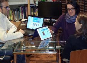 Amparo, Ana y Javier, convertir a los escritores en 'editores 2.0' con Byblioedit