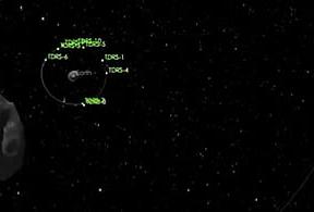 Un asteroide de 45 metros de diámetro rozará la Tierra el 15 de febrero