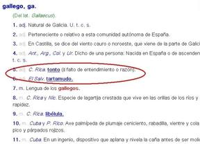 El 'gallego' dejará de ser tonto y tartamudo