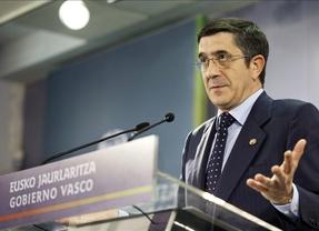 Patxi López afirma que rompe el pacto con el PP para defender los intereses de los vascos