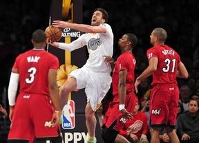 Los Lakers plantan cara a los Heat y los Thunder arrollan a los Knicks en el Madison