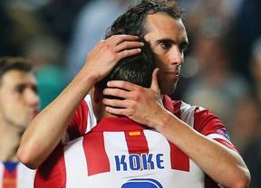 Único aspecto negativo de la paliza al Madrid: la lesión de Koke le tendrá apartado un mes