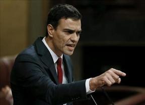 Pedro Sánchez acusa a Rajoy de ser