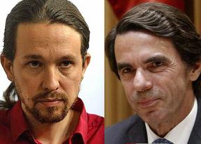 Podemos se querellará contra el expresidente Aznar por haberles acusado de financiación ilegal