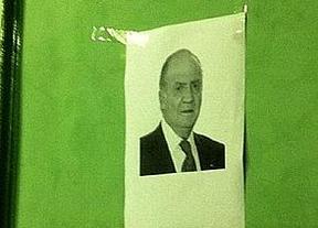 Bildu ningunea la imagen del rey: pone una fotocopia en lugar de un cuadro