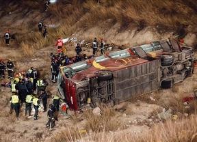 Ingresan en el hospital de Hellín cinco personas heridas en el accidente de autobús de Murcia