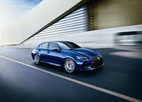 Lexus mostrará su nueva berlina deportiva GS F en el Salón del Automóvil de Ginebra