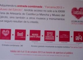 'FARCAMA Card' permitirá entrar a la feria de artesanía y a cinco museos de Toledo por tres euros