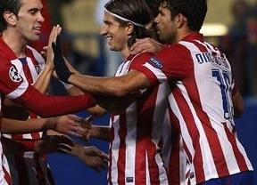 El Atlético, en el que ya marcan los subalternos del gol, torea al Austria y entra en octavos por la puerta grande (4-0)