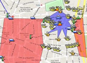 Un mapa interactivo para 'calentar' el 25-S