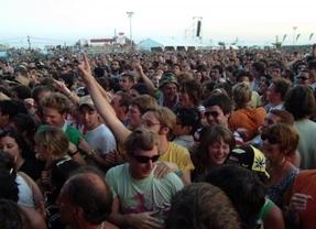 Las reservas para festivales de música se triplican