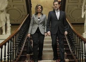 Rajoy hace coincidir los buenos resultados de la EPA con su presencia en el Foro de Empleo