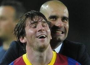 Nuevo festival azulgrana en la ceremonia del Balón de Oro con Messi y Guardiola protagonistas