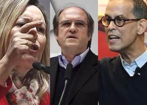 El PSOE tendrá que elegir entre 3 candidatos de distinto tirón electoral: Gabilondo, Valcarce y Zerolo