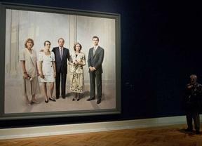 El retrato de la familia real de Antonio López ve la luz tras veinte años de pinceladas