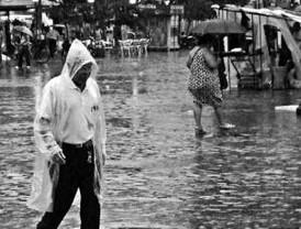 Cartagena soportó la lluvia por 12 horas