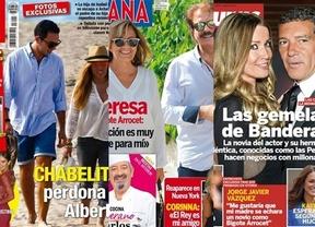 El perd�n de Chabelita, portada de la prensa rosa