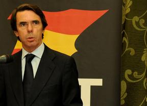 Aznar le marca el camino a Rajoy sobre ETA: 'ni atajos ni concesiones' a los terroristas