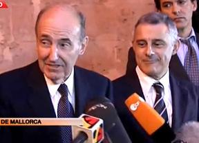 Los abogados Miquel Roca y Jesús María Silva presumen de la infanta: