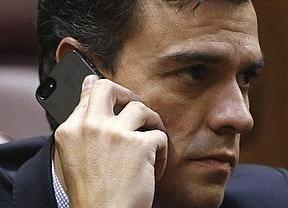 Pedro Sánchez da por ciertos los datos filtrados del CIS, con el PSOE adelantado por Podemos: 'A trabajar'