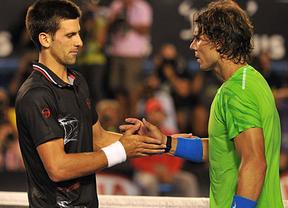 A Nadal no le preocupa Djokovic y sí mejorar su propio tenis... o al menos eso dice