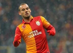 Horario dónde ponen Real Madrid-Galatasaray: Sneijder busca venganza en Champions (miércoles 3 de abril 2013, Canal Plus)