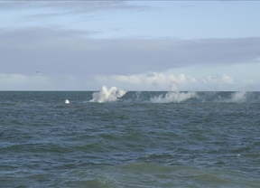 El mar que rodea La Resinga tiene entre 4.000 y 35.000 veces más cantidad de Helio de lo normal