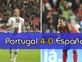 La España humillada por Portugal, comidilla del día en la prensa internacional