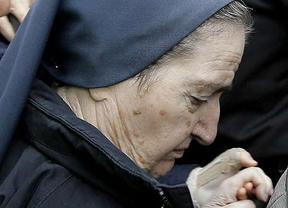 Anuncian que muere Sor María, la monja imputada en los casos de bebés robados... aunque falleció el martes