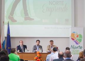 Jóvenes emprendedores presentan sus proyectos empresariales en las Jornadas 'Norte Emprende'