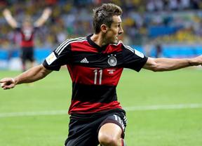 Klose histórico: ya el más grande... goleador de la historia de los Mundiales con un total de 16
