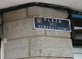 Aguirre impulsa una plaza de Franco en un pueblo de Madrid