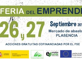 Mañana comienza la tercera edición de la Feria del Emprendedor Rural en Plasencia