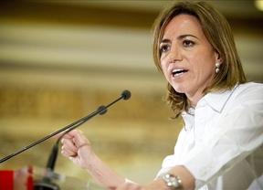 Carme Chacón se lo quiere poner díficil a Rajoy: exige la lista de 'amnistiados' y no de defraudadores