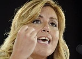 Susana Díaz se aseguró un sitio preeminente en la apertura de la Conferencia Política del PSOE