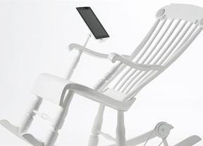 Tracidión y tecnología se dan la mano gracias a la mecedora iRock