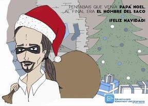 Nuevas Generaciones del PP y Podemos se enzarzan en Twitter por un polémico 'Christmas'