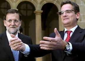 Rajoy y Basagoiti dicen que apartarse del Estatuto es apartarse de la prosperidad