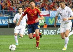 La Roja no contará ante Uruguay con Xabi Alonso, lesionado y sustituido por Mario Suárez