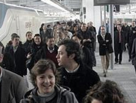 Arranca el AVE Madrid- Valencia con pasajeros