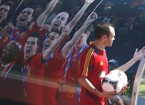'La Roja' de Iniesta deja un 88,9% de 'share' en CLM