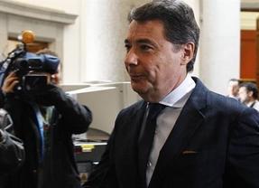 Ignacio González hace oídos sordos a la cinta filtrada y denuncia que