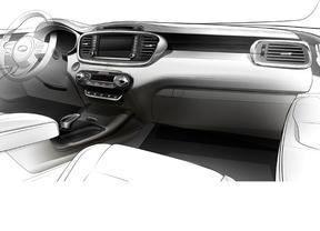 Kia apuesta por un interior más lujoso en la tercera generación del Sorento