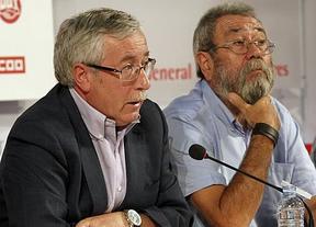 Toxo y Méndez piden un referéndum y advierten: