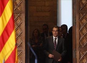 2014, el año del envite catalán: Artur Mas no abandonará la vía soberanista le cueste lo que le cueste
