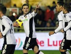 Valencia remontó en el último minuto ante el Málaga