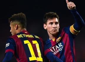Copa del Rey: el tridente mágico de Messi, Neymar y Suárez apacigua al Nou Camp en la manita al Elche (5-0)