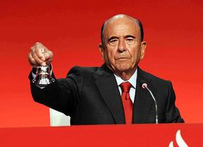 La calma de Botín: la recuperación económica está sentada y vuelve el crédito, pero alerta sobre Cataluña