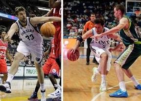 El Real Madrid cruza el charco para probarse en la NBA ante los Grizzlies de Marc y los Raptors de Calderón