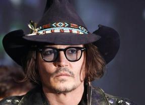 Johnny Depp toca la guitarra con Bob Dylan